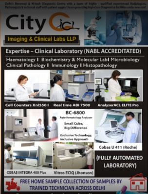 City imaging and clinical labs delhi cantonment